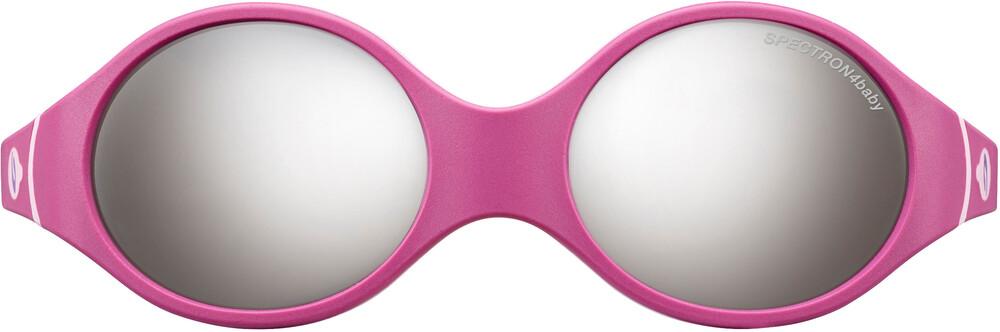 Julbo Loop Spectron 4 Sunglasses Baby 2-4Y Fuchsia/Purple/Pink-Gray Flash Silver 2018 Sonnenbrillen KLwly